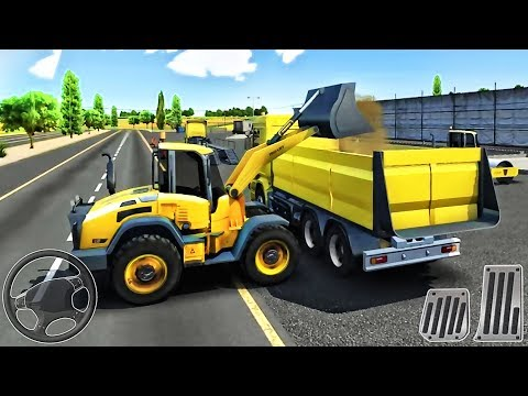 Drive Simulator 2 - Construction Vehicles Excavator, Truck - Best Android Gameplay