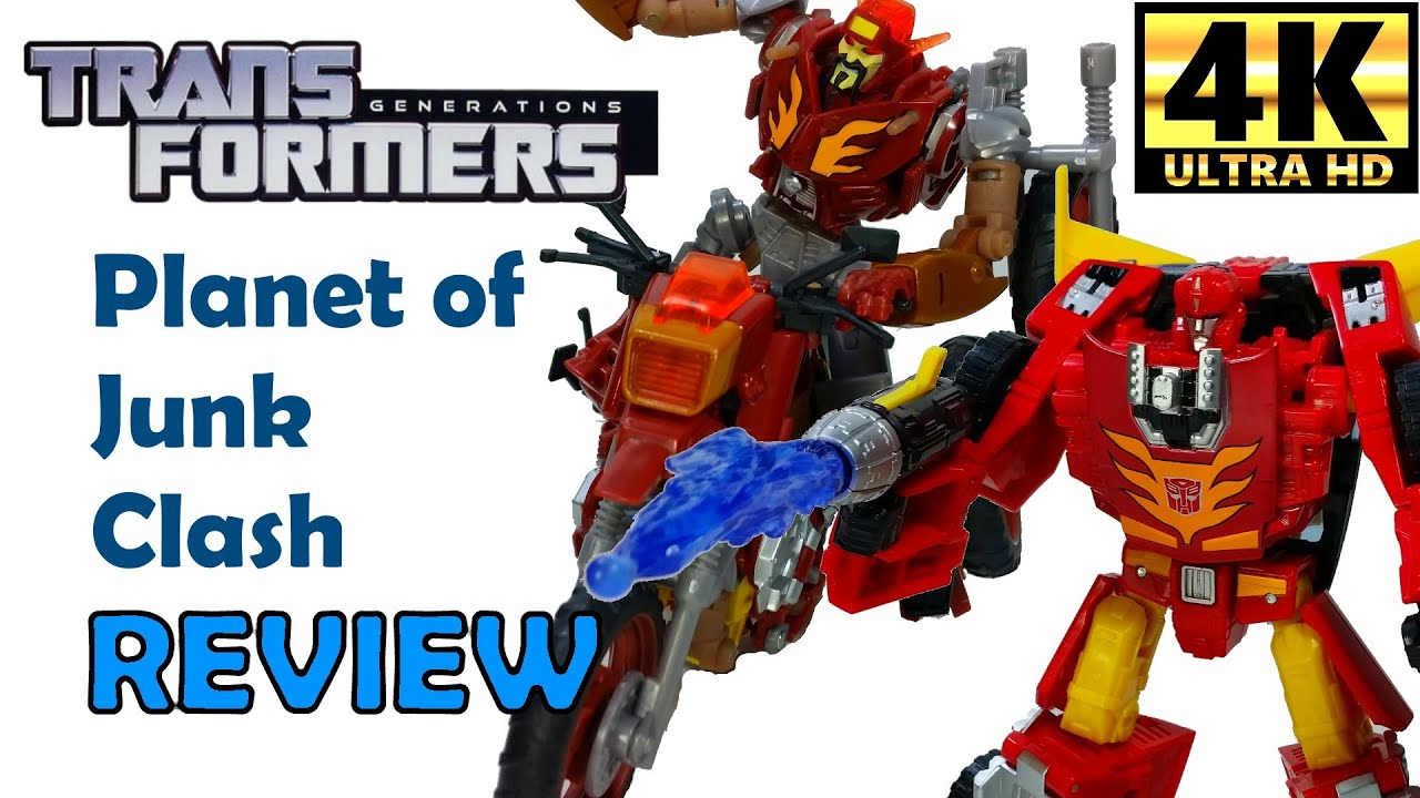 Transformers Planet of Junk Clash Box Set Review with Wreck-Gar, Hot ...