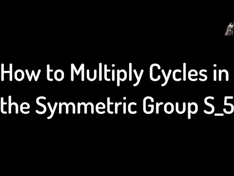 How to Multiply Cycles in the Symmetric Group S_5
