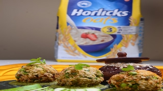 Hariyali Horlicks Oats Balls