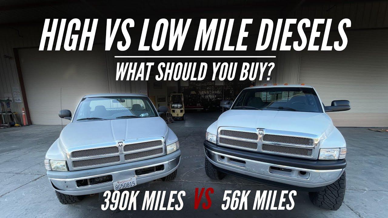 High VS Low Mile Diesel Trucks | What Should YOU Buy?