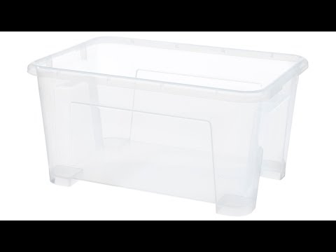 "ikea-samla-box-clear-11x7-½x5-½-""/1-gallon-+-lid-for-box【4k】"