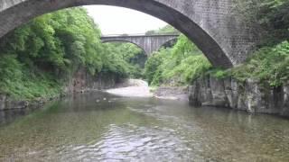空撮 故郷の映像2016 轟橋 出合橋