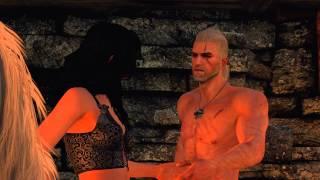 Ведьмак 3 - Секс с Йеннифэр на единороге
