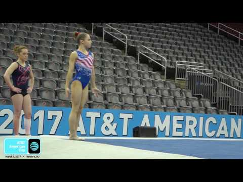 Ragan Smith - Floor - 2017 AT&T American Cup - Podium Training