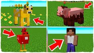 He añadido a los mobs de Minecraft EARTH en la actualización de Minecraft 1.14