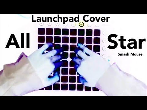 All Star - Smash Mouth 〈Bunny  Remix 〉Launchpad cover 【SEIZURE WARNING】