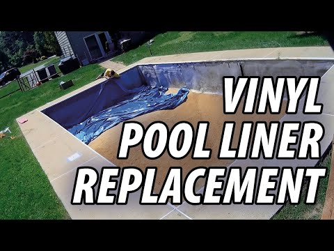 Vinyl Pool Liner Replacement