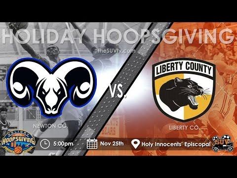 Holiday Hoopsgiving: Newton (GA) vs. Liberty County (GA)