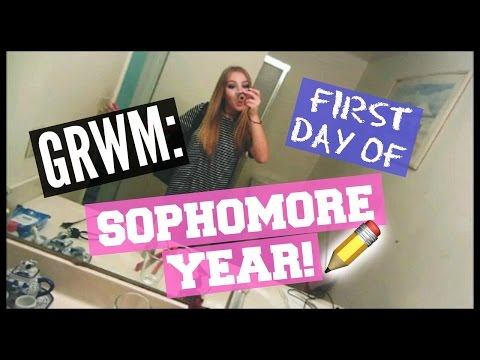 GRWM: First Day Of Sophomore Year!