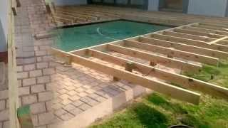 Building A Wooden Pool Deck