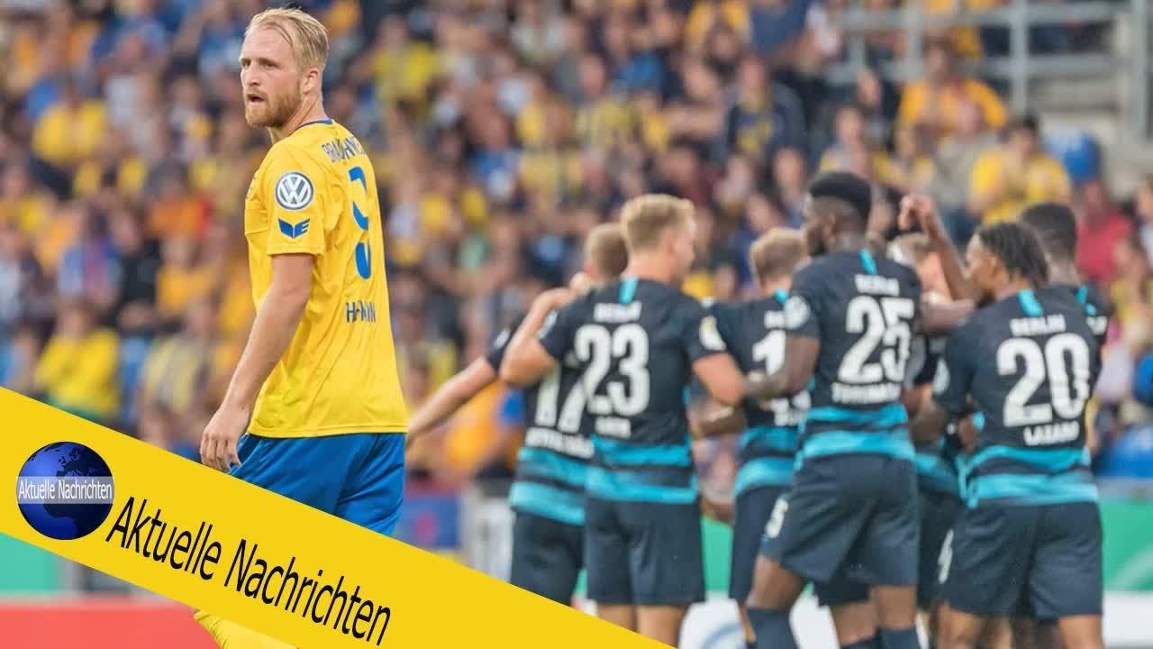 Braunschweig Verpasst Pokal Uberraschung Knapp Youtube