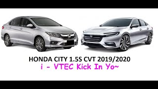 HONDA CITY 1.5S CVT 2019/2020 WALKAROUND