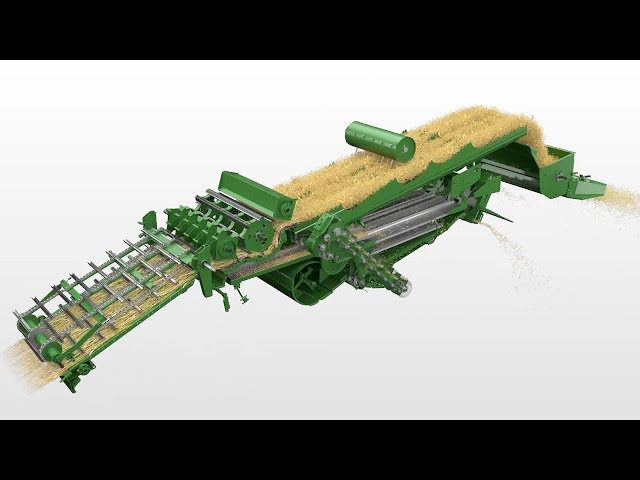 John Deere - W330/440 Sistema de debulha