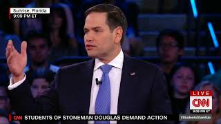 Marco's Opening Statement At CNN Townhall