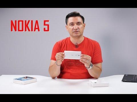 UNBOXING & REVIEW - Nokia 5 - Un fel de Nokia 3 dar ceva mai bun