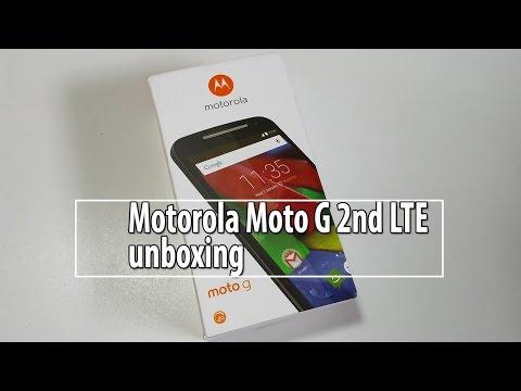 Motorola Moto G 2nd Gen 4G LTE UNBOXING ROZPAKOWANIE