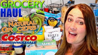 Costco, Sprouts, & Natural Grocers GROCERY HAUL!  HEALTHY GROCERY HAUL!GROCERIES FOR ONE MONTH! KETO