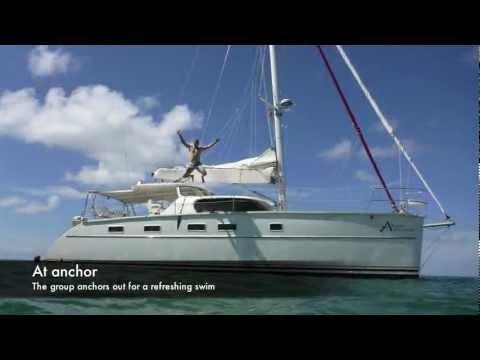 Antares University: Sailng a catamaran in Grenada