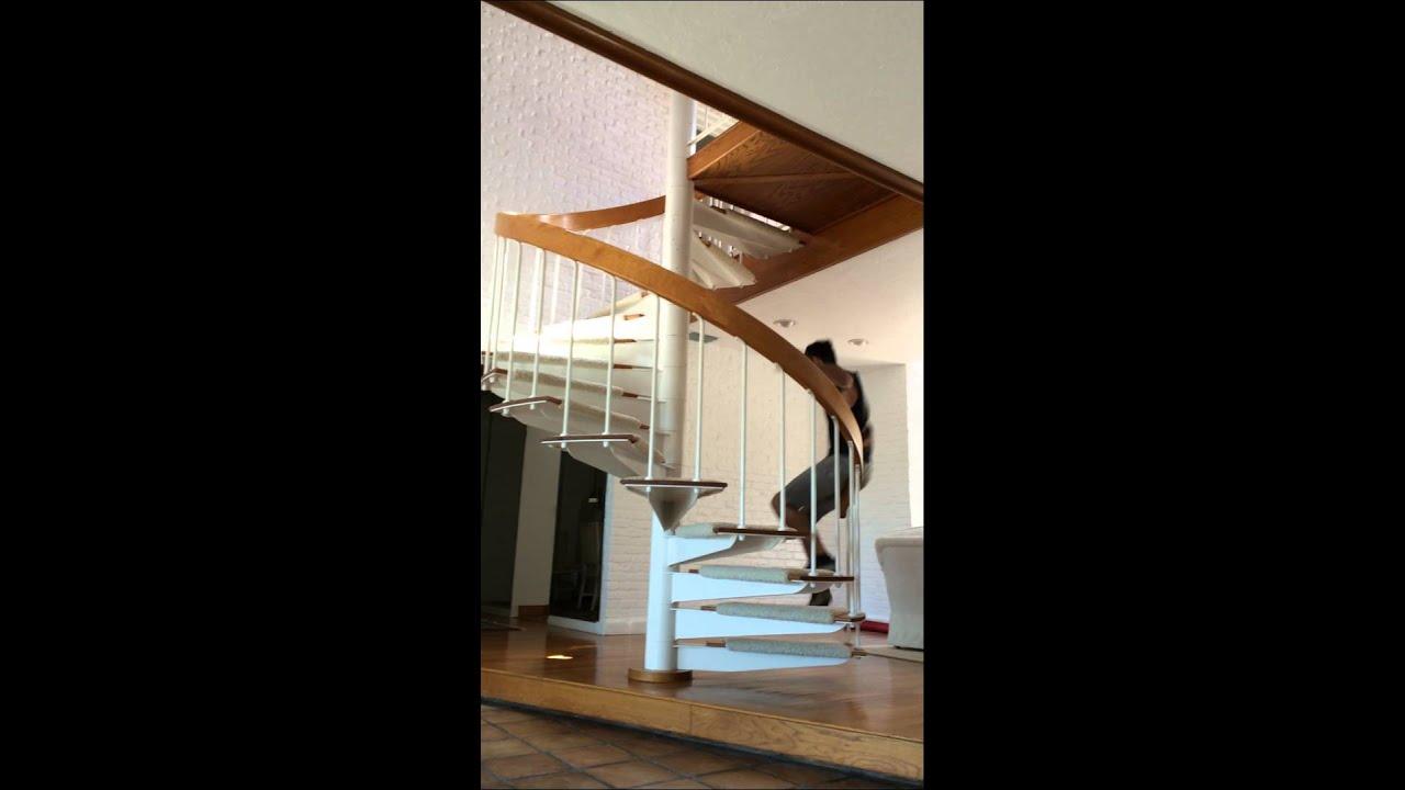 Merveilleux Spiral Staircase Slide