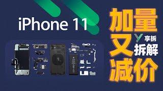 【Iphone 11 拆解】 11 vs Pro內部秘密 一次比完