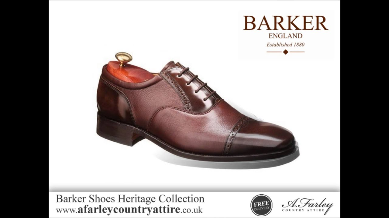 e58d0742394 Barker Shoes Heritage Collection - English Made Shoes - YouTube