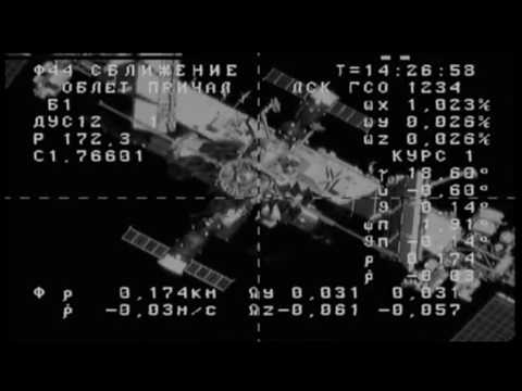 Russian Resupply Ship Arrives at the International Space Station