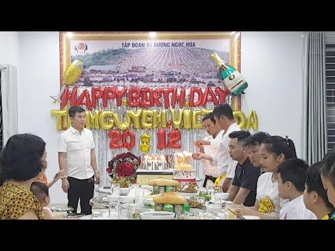 Mừng sinh nhật Nguyễn Viết Hòa và lời cảm ơn chân thành