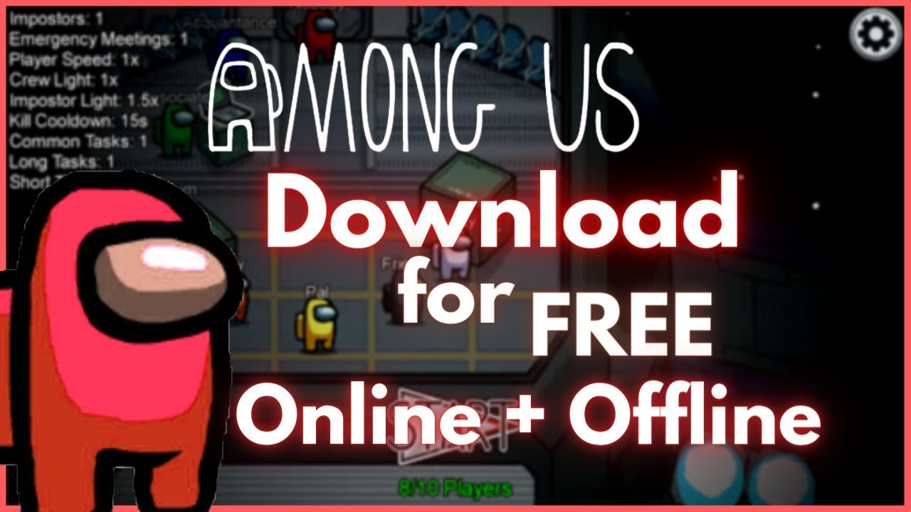 How To Download Among Us Pc For Free Secure Everything Unlocked Latest Version Read Desc Youtube