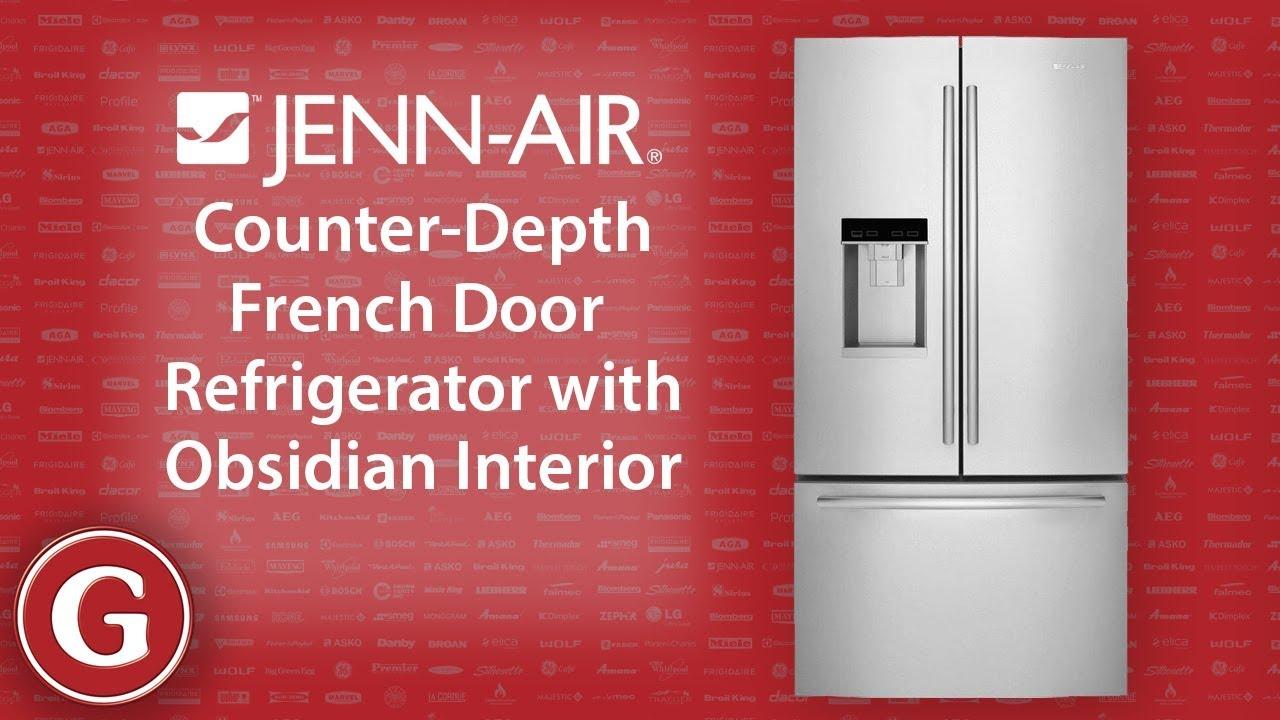 Jenn Air Counter Depth French Door Refrigerator