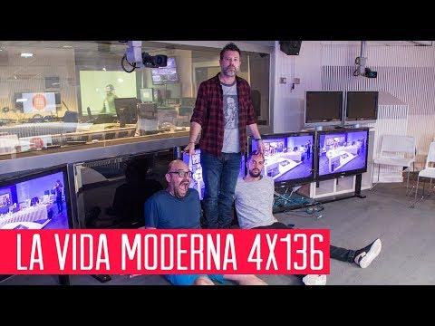 La Vida Moderna 4x136...es ver una partida del cinquillo por Twitch