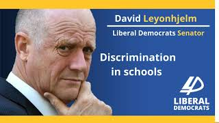 Leyonhjelm Senate doorstop 15 October 2018