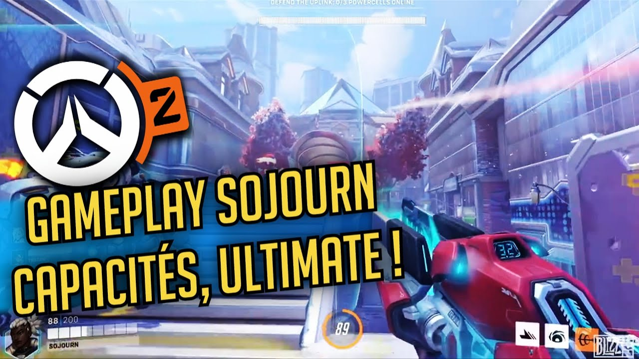 Download GAMEPLAY SOJOURN, CAPACITÉS, ULTIMATE, NOUVEAUX HEROS OVERWATCH 2 - FR - PC PS4 PS5 XBOX SWITCH