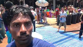 Songkran celebrations in Thailand 2018 | เทศกาลสงกรานต์, | pattaya south | walking street
