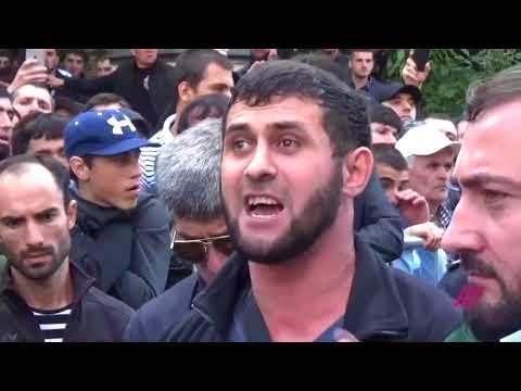 Сотни мусульман вышли на несогласованную акцию в Москве mp4