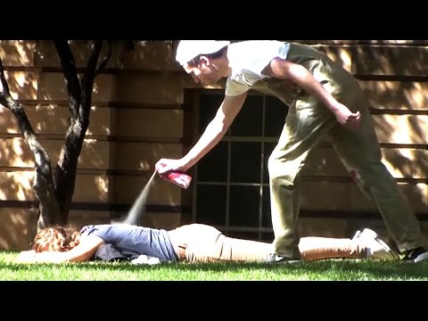 Thumbnail: Spray Painting People Prank