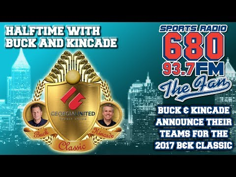 Buck and Kincade announce their teams for the 16th annual Buck and Kincade Classic