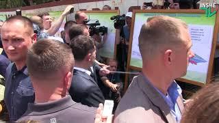 #Зеленский на судостроительном заводе в Николаеве