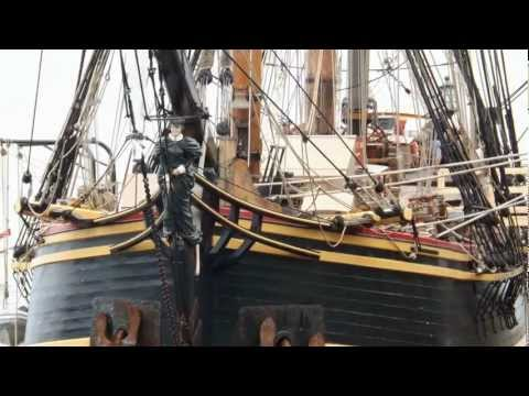 R.I.P. HMS Bounty - Eastport, Maine 2012 Pirate Festival