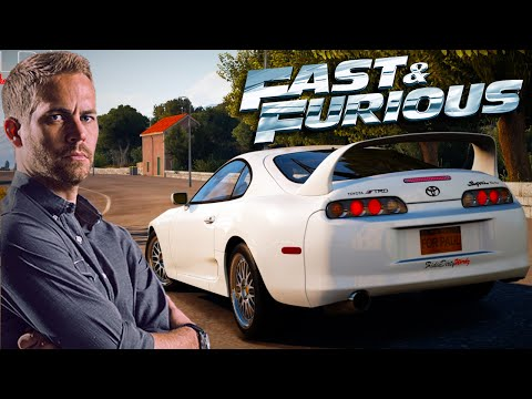 FAST & FURIOUS 7 : Forza Horizon 2 - Let's Play #2 [FACECAM] - PAUL WALKER'S AUTO !! HD