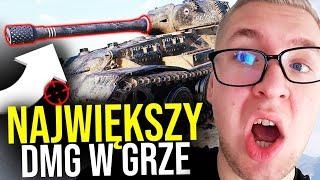 NAJWIĘKSZY DMG W GRZE - World of Tanks