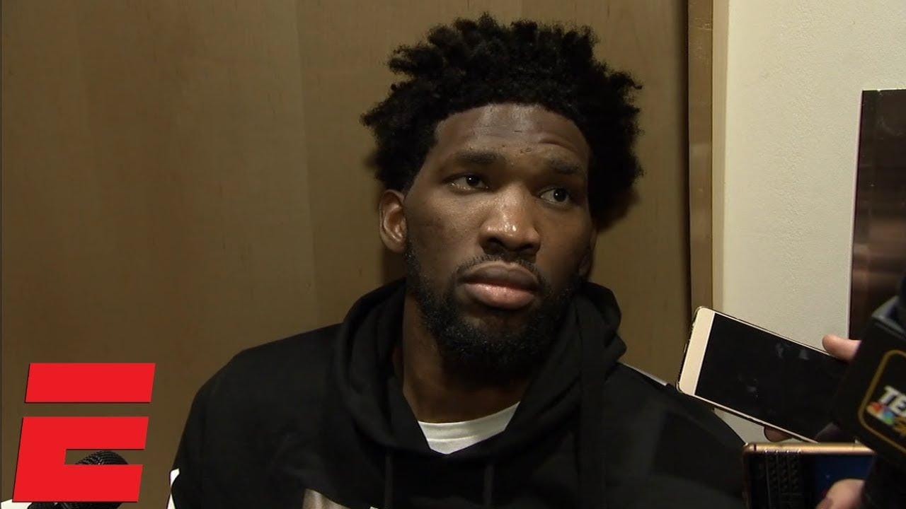 Joel Embiid on 76ers vs. Raptors: 'I sucked'   NBA Sound