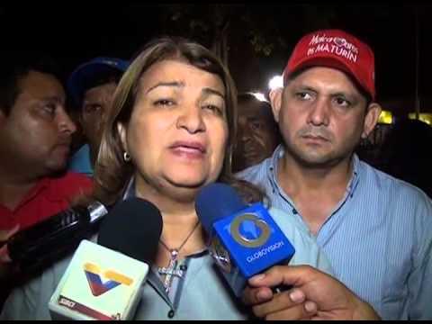 07 11 13 GOBERNADORA DE MONAGAS HABLA SOBRE CASO DE POLICIAS ASESINADOS