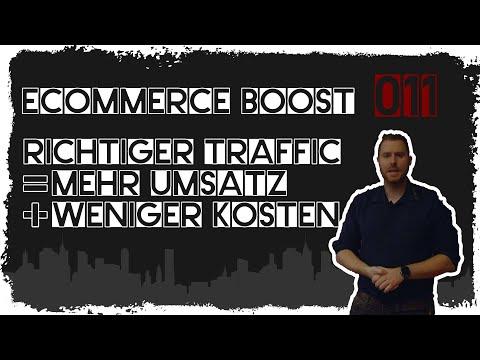 ecommerce boost #011: Richtiger Traffic = Mehr Umsatz und weniger Kosten