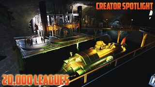 20,000 Leagues Under the Sea Ride! || Creator Spotlight #3 Planet Coaster