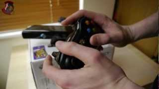 XBOX 360 Slim 250GB Kinect edition unboxing