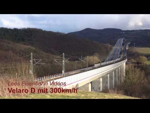 Velaro D mit 300km/h (HD)