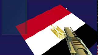 Egyptian Flag Wave Animation using DirectX 11.1 and HLSL C++