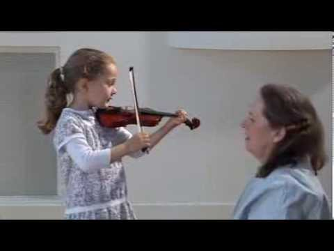 Violin technique  Very Young Beginners, exercises