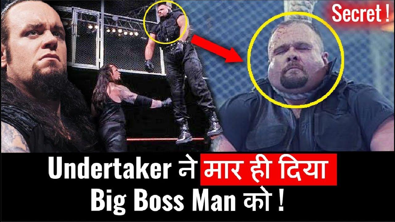 Secret Of Undertaker Killed Big Boss Man Hanging Wrestlemania 15 ! The  Undertaker Hangs Big Boss Man